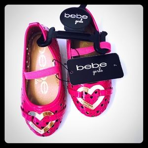 Bebe Girls pink shoes